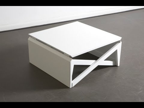 Duffy London's MK1 Mini Transforming Table Morphs from Coffee Console to Dining Space in Seconds