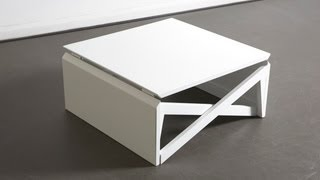 Mk1 Metal Coffee Table By Duffy London