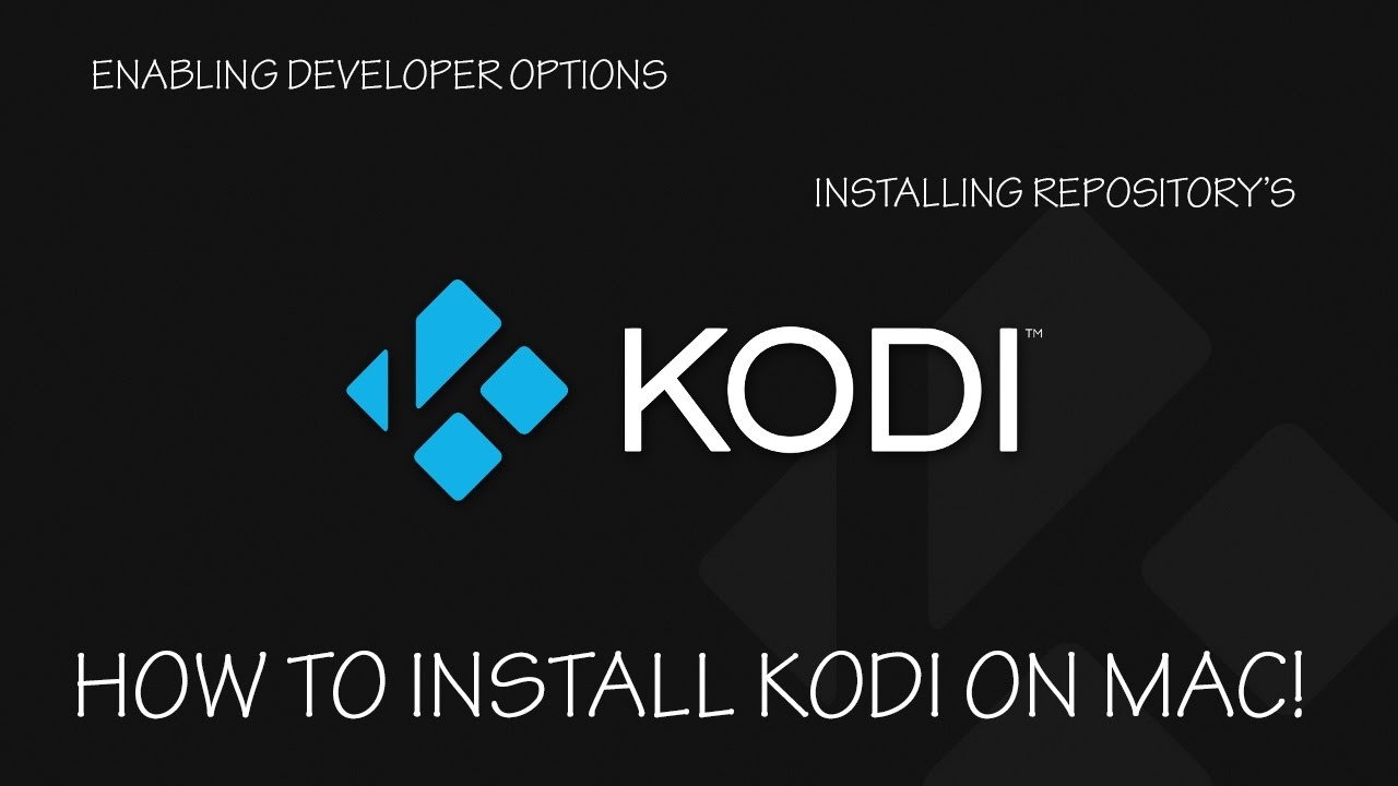 HOW TO INSTALL KODI ON MAC OS WITH EXODUS REPOSITORY!!