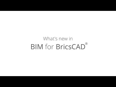 What's new in BIM for BricsCAD V17