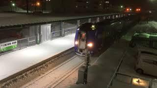 特急サロベツ1号稚内駅到着 Limited Exp Sarobetsu 1 arriving at Wakkanai station