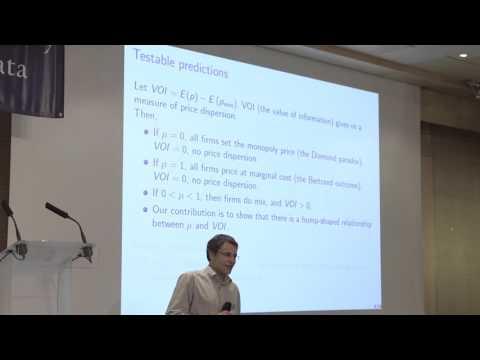 Day 2 - Parallel Session Econometrics: Philipp Schmidt-Dengler - University of Vienna