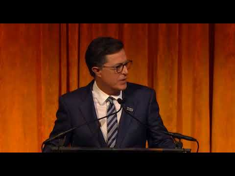 NBR Gala 2018 - Stephen Colbert introduces Best Director Greta Gerwig
