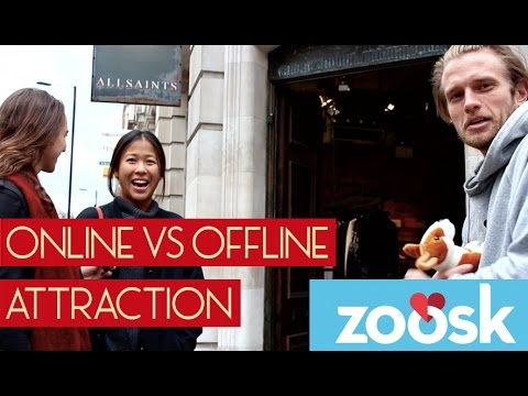 Online vs. Offline Attraction (Social Experiment)