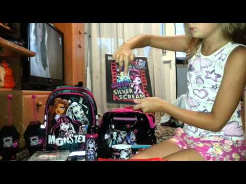 Собираемся в Школу с Monster High
