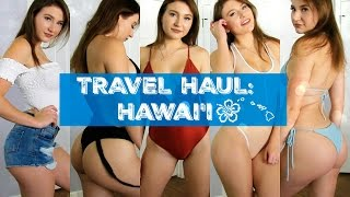 Travel Haul/ LookBook | What I Brought to Hawaii | Outfit Ideas | FashionNova, Forever21, etc. thumbnail