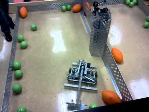 Vex Swept Away Ahs 2012 Team 3 Robotics 1 Youtube