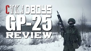 Dboys GP-25 airsoft gas grenade launcher for akm & ak-74 series. A ...