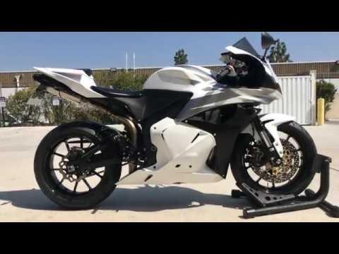 2009 Honda CBR600RR / TI Force Full Exhaust Sound Clip