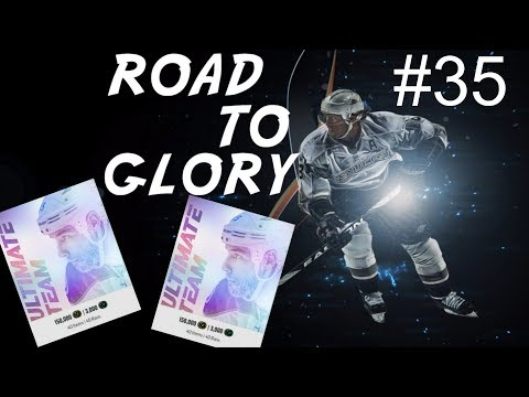 Opening an ultimate pack-  ROAD TO GLORY E35  NHL 18 Ultimate Team