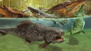 Dewon - epoka ryb, kręgowce zdobywają lądy, pierwsze lasy - Historia Ziemi #7
