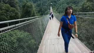Trip to Situ Gunung Suspension Bridge Part 14