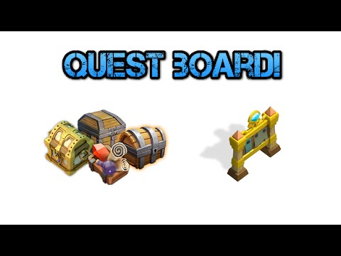 Castle Clash: Quest Board Refreshing