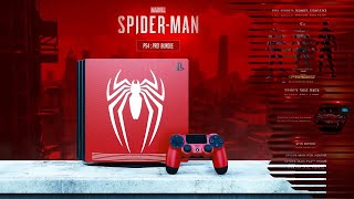 Spider - Man | Limited Edition PS4 Pro Bundle Concept