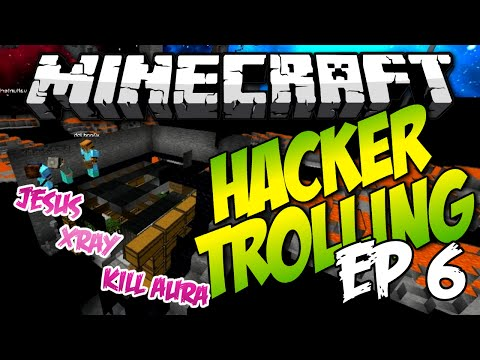 Minecraft: HACKER TROLLING EP6! - TRIO OF XRAYERS