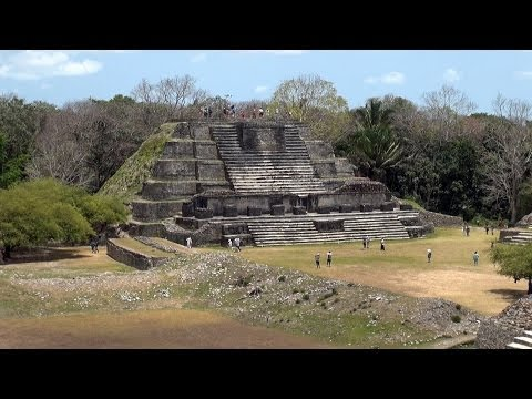 Altun Ha Maya ruins of Belize impressions HD