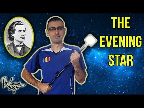 THE EVENING STAR by Mihai Eminescu | Learn Romanian Poetry #1