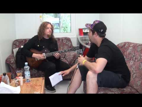 "Opeth Interview About ""Sorceress"" @ Qstock festival 30.7.2016"