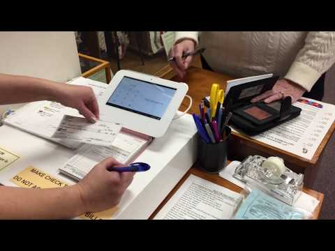 Check Transaction Review at Pioneer Museum