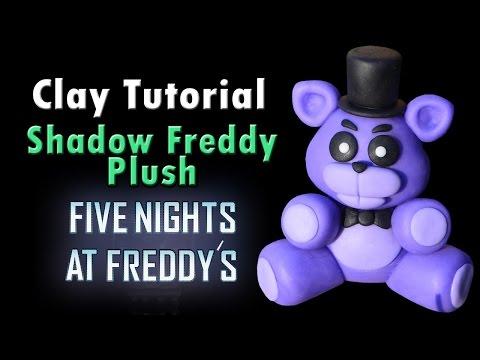 Shadow Freddy Plush Tutorial - Clay/ Plasticina / Porcelana fria