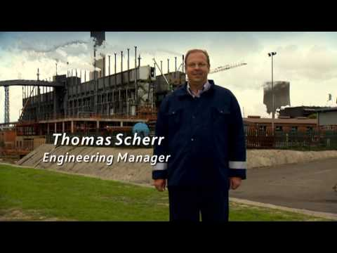 Sasol additional Mark IV Fixed Bed Gasifier Project - Video