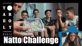 Israeli Teens Try Japanese  Natto | Yael & Roy's Mania