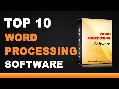 Best Word Processing Software - Top 5 List