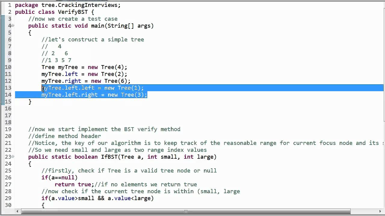 Delete or remove node from binary search tree (BST) – (Java/ DFS/ Example)