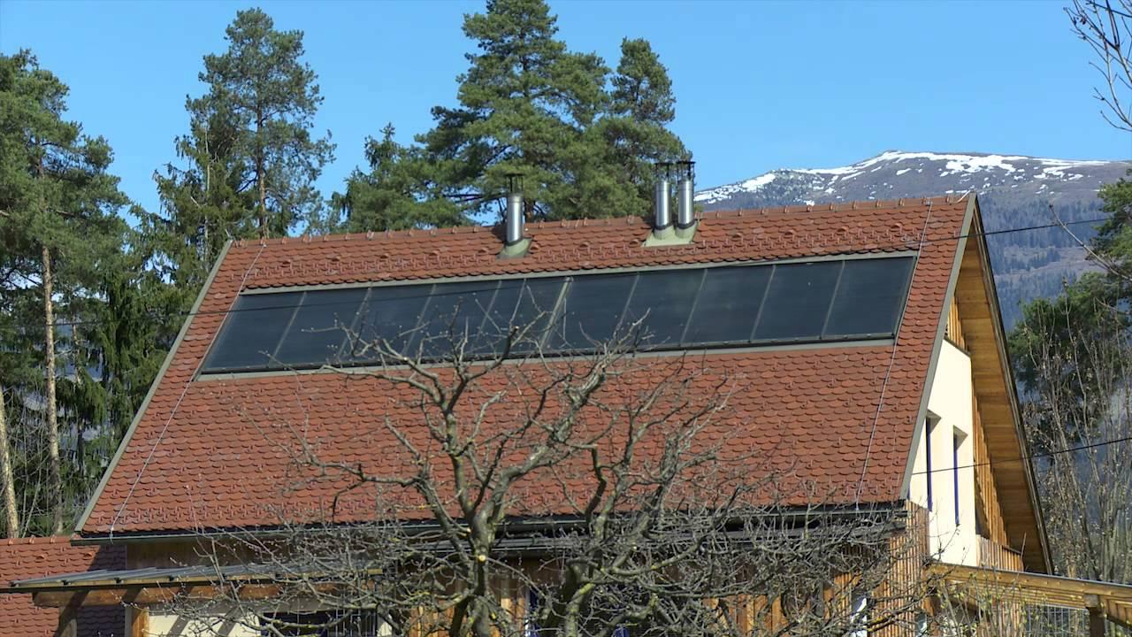 Elegant Thermische Solaranlagen (Wasser, Heizung)