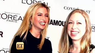 "Chelsea Clinton: ""I am very good friends with Ivanka"" Trump"