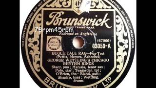 Bugle Call Rag   George Wettling´s Chicago Rhythm Kings