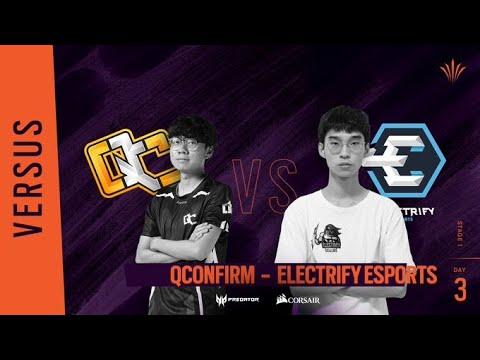 QConfirm vs Electrify Esports // Rainbow Six APAC North Division - Playday #3