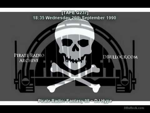 [G237-EDIT] DJ Hype ~ 26/09/1990 ~ Fantasy fm Pirate Radio
