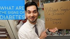 Diabetes Signs and Symptoms (2018)