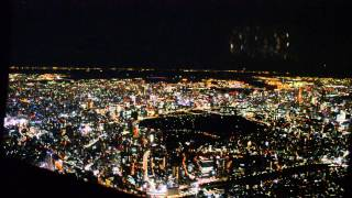 Helicopter Ride Over Tokyo at Night
