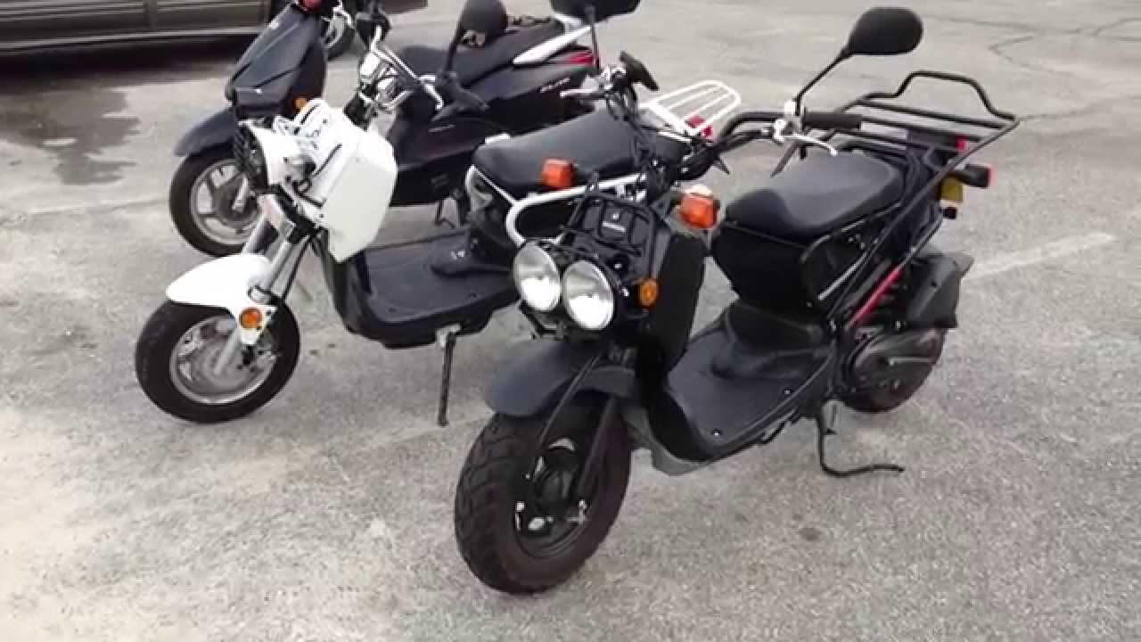 Honda Ruckus Vs Chinese 150cc Ruckus Clone Ruckus Scooter Knockoff Youtube