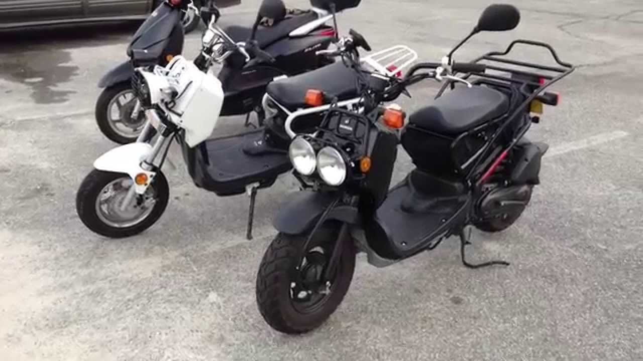 Yamaha Zuma Vs Honda Ruckus