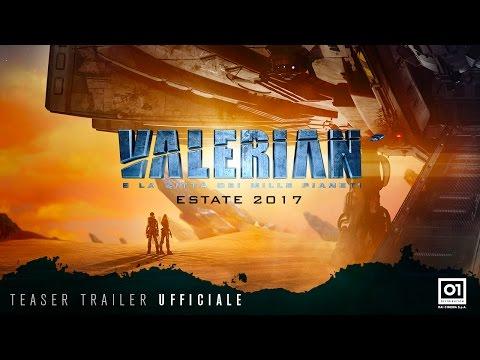 Valerian e la città dei mille pianeti – Teaser trailer italiano ufficiale