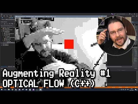 Augmenting Reality #1 - Optical Flow (C++)