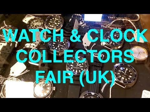 Watch Collectors Fair 2018 (UK)