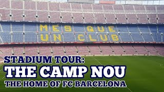 + thanks for watching! please like the video, leave a comment below, and subscribe to channel. content: * chris cowlin tours camp nou, home of ...