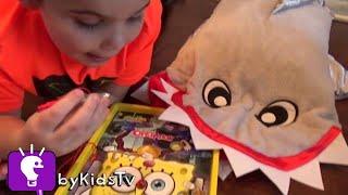 World's Biggest SHARKNADO! Surprise Toy Hunt + Doctor Tornado Terror Video Game Apps HobbyKidsTV