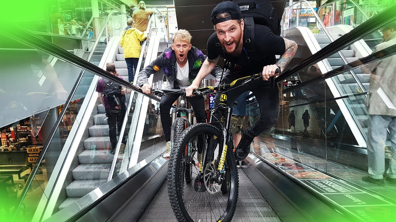 BATTLE AGAINST Peter McKinnon - Mall MTB Race