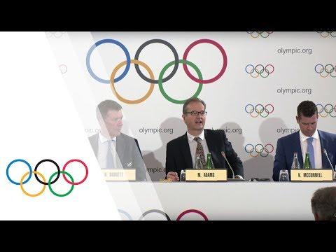 IOC Executive Board - Press Briefing with IOC President's Spokesman Mark Adams
