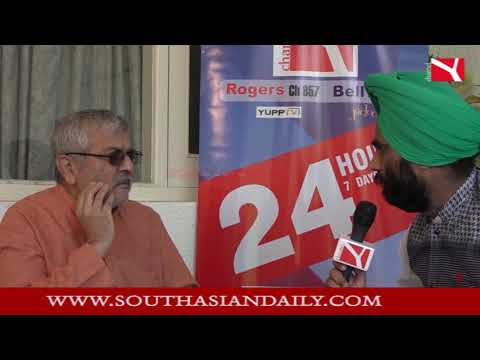 Dr. Dharamvira Gandhi Forms New Punjab Manch Channel Y Exclusive Interview |Part 2|