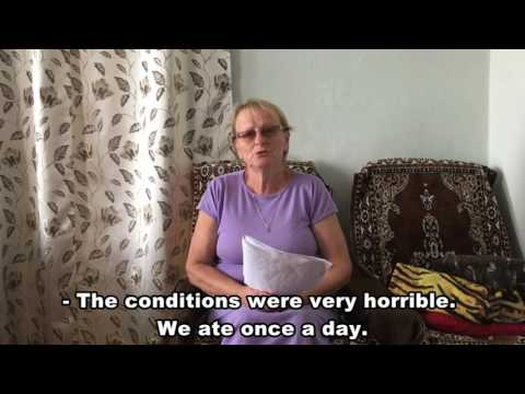 Proof of violations of international conventions on human rights