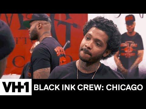 Ceaser is Shocked by the New 9MAG 'Sneak Peek'   Black Ink Crew: Chicago