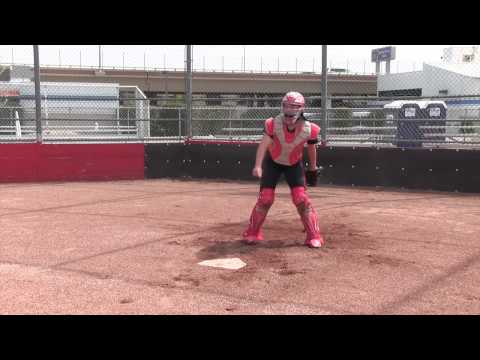 150501 Jordan Gross 2017 Catcher Strike Zone Softball Skills