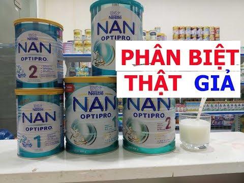 Vlog 94 Phân biệt sữa Nan Nga thật và Nan Nga giả