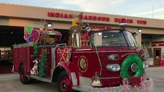 2 children struck by car while running to see Santa Claus on fire truck